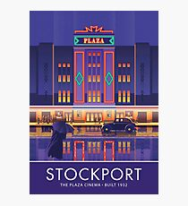Stockport, Plaza Cinema Photographic Print