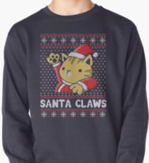Xmas ugly sweater Cat Santa Claws Pullover