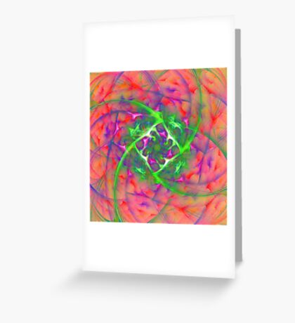 At the beginning of the rotation #fractal art Greeting Card