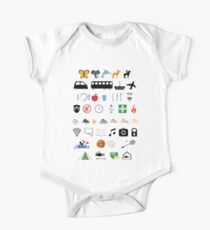 Travel icons Kids Clothes