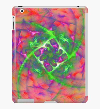 At the beginning of the rotation #fractal art iPad Case/Skin