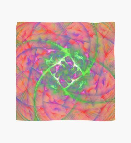 At the beginning of the rotation #fractal art Scarf