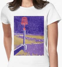 Seaview Fire Beacon in Purple Women's Fitted T-Shirt