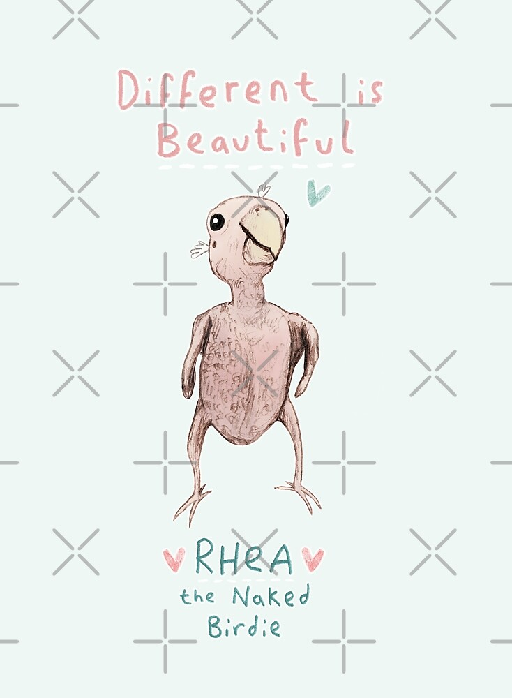 Rhea - Different is Beautiful by Sophie Corrigan