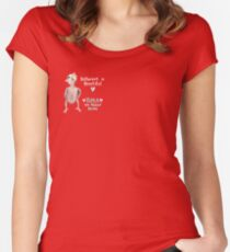 Rhea - Different is Beautiful Women's Fitted Scoop T-Shirt