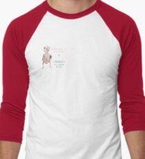 Rhea - Different is Beautiful Men's Baseball ¾ T-Shirt