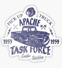Chevrolet Apache Truck Task Force Series Glänzender Sticker