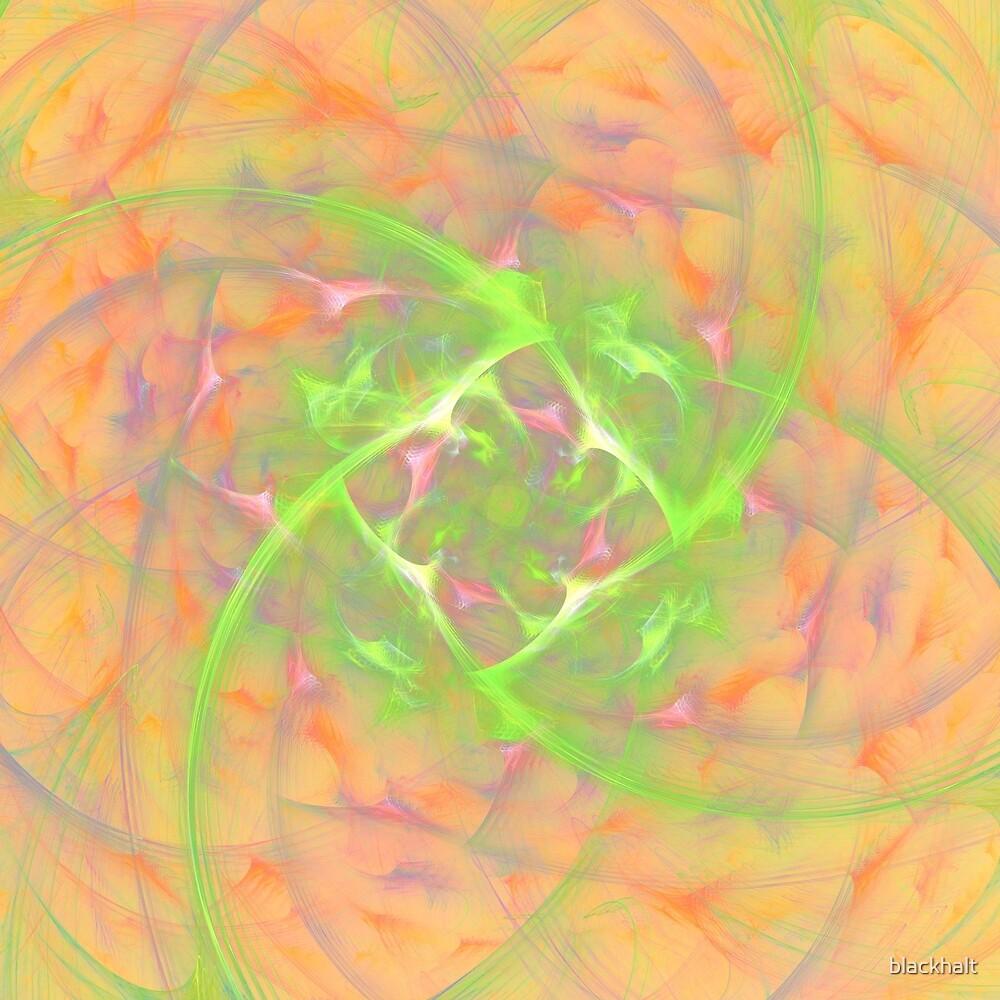 At the beginning of the rotation #fractal art 2 by blackhalt