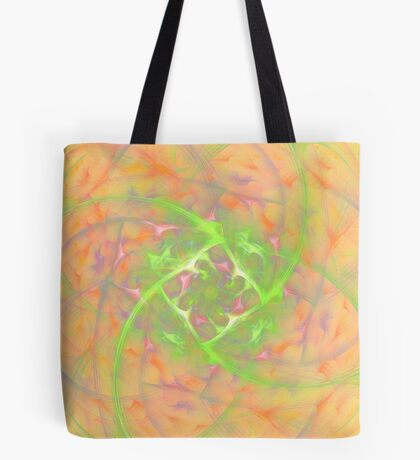 At the beginning of the rotation #fractal art 2 Tote Bag