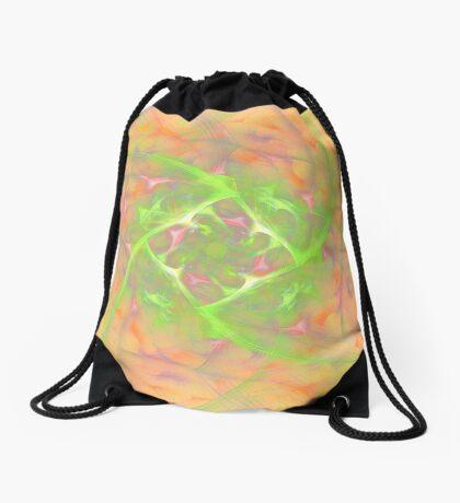 At the beginning of the rotation #fractal art 2 Drawstring Bag