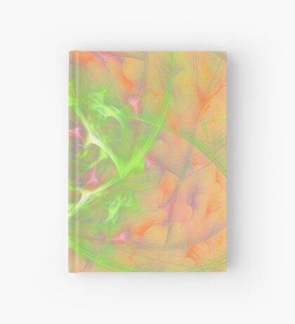 At the beginning of the rotation #fractal art 2 Hardcover Journal