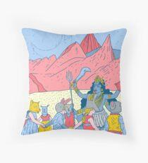 Kali dance  Throw Pillow