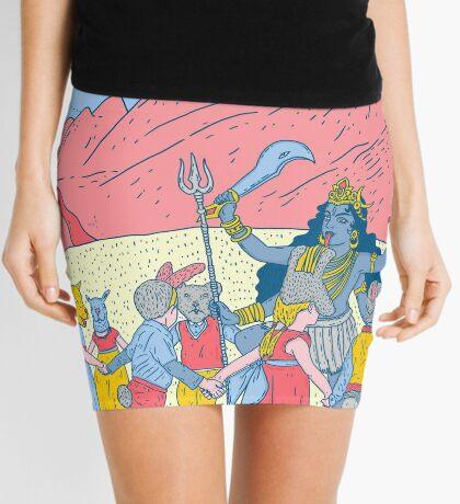 Kali dance  Mini Skirt