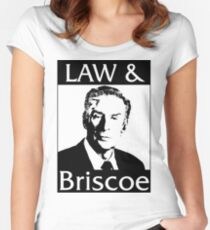 Law & Briscoe Women's Fitted Scoop T-Shirt