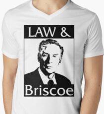 Gesetz & Briscoe T-Shirt mit V-Ausschnitt für Männer