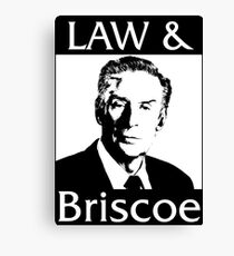 Law & Briscoe Canvas Print