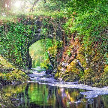 Mysterious River Machno, North Wales by malbraman