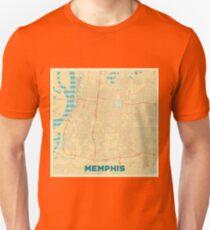 Memphis Map Retro Unisex T-Shirt