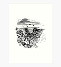 Encounter With BallyBunion's Nine Daughters Art Print