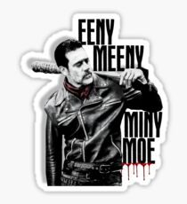 The Walking Dead - Negan Sticker