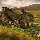 Ancient Welsh Cottage by Mal Bray