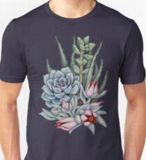 Midnight Succulents Unisex T-Shirt