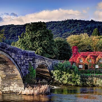 Ancient Tea House in North Wales by malbraman