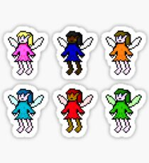 The fairies of colour Sticker