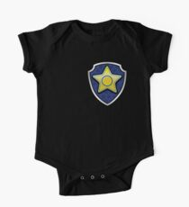 Chase - Police Pup-tag One Piece - Short Sleeve