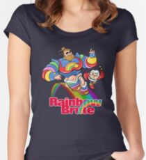 RAINBOW BRUTE! Women's Fitted Scoop T-Shirt