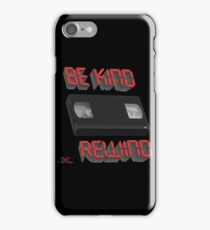 Be Kind Rewind Ver. 9 iPhone Case/Skin