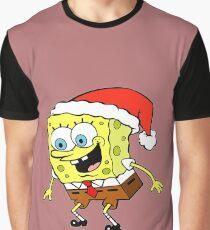 Spongebob Christmas Graphic T-Shirt