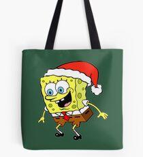 Spongebob Christmas Tote Bag