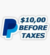 I will send you $10,00 via paypal Sticker