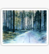 Forest Light Sticker