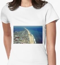Aerial View of Ocean City Maryland T-Shirt