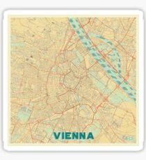 Vienna Map Retro Sticker