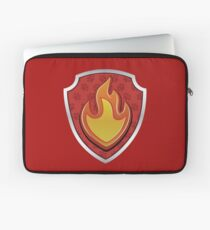Marshal - Fire Pup-tag Laptop Sleeve