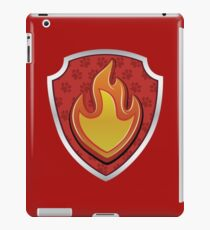 Marshal - Fire Pup-tag iPad Case/Skin
