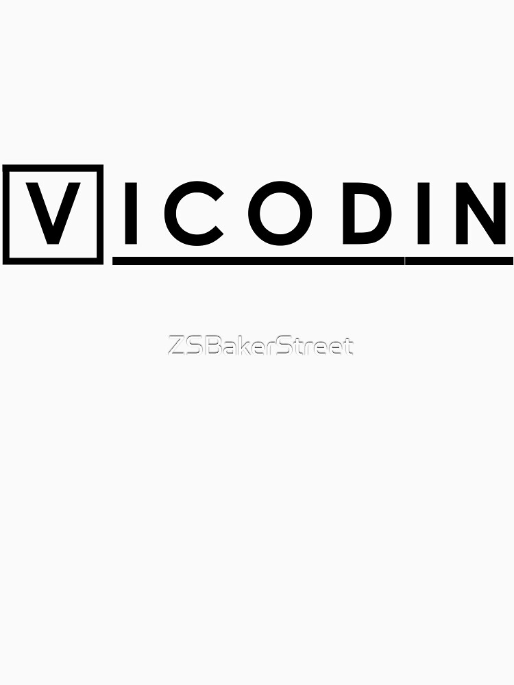 House MD Hugh Laurie Vicodin by ZSBakerStreet