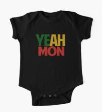 Yeah Mon! Jamaican Slang Kids Clothes