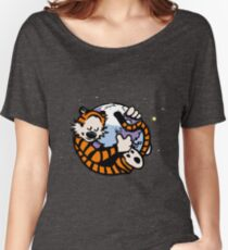 The Calvin and Hobbes Firefox Women's Relaxed Fit T-Shirt