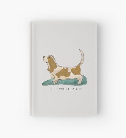 Keep Your Head Up Hardcover Journal