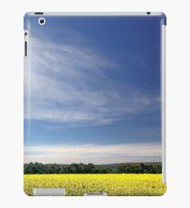 Sun Halo Over Canola Field iPad Case/Skin