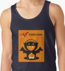 I Heart Candy Corn Tank Top
