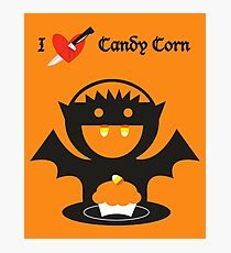 I Heart Candy Corn Photographic Print
