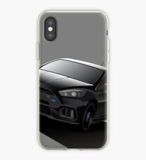 Black Focus RS iPhone Case