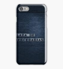 Seville at Night - Plaza de las Mercedarias iPhone Case/Skin