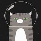 Space Cat by agrapedesign