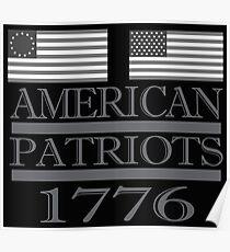 American Patriots 1776  Poster